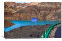 Tibet, Canvas Print