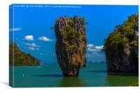 Phang Nga Bay Thailand, Canvas Print