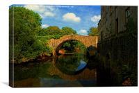 Blackpool Bridge #1, Canvas Print