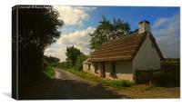 Penrhos Cottage: Ty Un Nos, Canvas Print