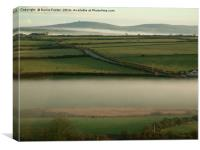 Pembrokeshire Pastoral #4, Canvas Print