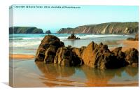 Marloes Sands Detail #3, Canvas Print