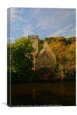 The Church of St Aidan, Llawhaden #2, Canvas Print