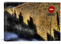 No Entry, Canvas Print