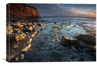 Nash Point S. Wales, Canvas Print