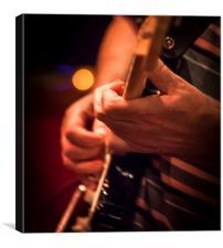 Guitar player, Canvas Print