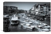 Grand canal Venice Italy, Canvas Print