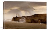 Storm Desmond, Canvas Print