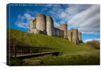 Kidwelly Castle South Wales, Canvas Print