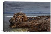 Betlem coastline Mallorca, Canvas Print