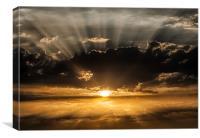 Sunrays, Canvas Print
