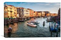 The Grand Canal, Canvas Print