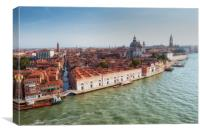 Venice city Grand canal, Canvas Print