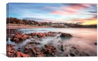Langland Bay sunrise, Canvas Print