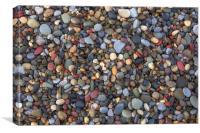 Small pebbles, Canvas Print