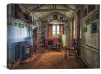 Dylan Thomas's writing shed, Canvas Print