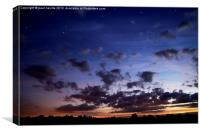 starry night, Canvas Print
