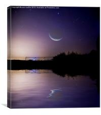 moonlight, Canvas Print