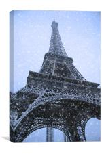 Eiffel Tower Paris, Canvas Print