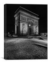 Arc De Triomphe, Canvas Print