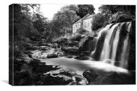 Old Mill House, Canvas Print