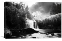 Glenglave Water Glengavel, Canvas Print