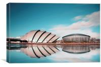 SECC Glasgow, Canvas Print