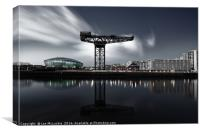 Glasgow Skyline, Canvas Print