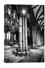Glasgow Cathedral Colum, Canvas Print