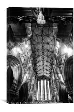 Glasgow Cathedrals High Walls, Canvas Print