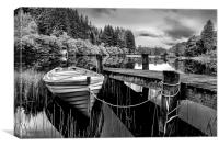 Loch Ard,The Trossachs,Scotland, Canvas Print
