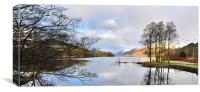 St Fillans,Loch Earn,Scotland, Canvas Print
