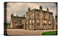 Ripley Castle, North Yorkshire, Canvas Print