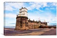 Fort Perch Rock, New Brighton, Wirral, Canvas Print