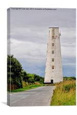 Leasowe Lighthouse, Wirral, UK, Canvas Print