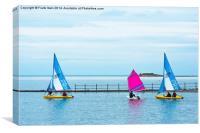 West Kirby Marine lake, Canvas Print