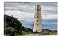 Artistic work of Leasowe Lighthouse, Canvas Print