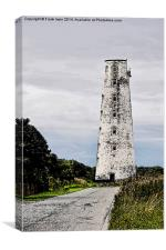 Artistic work of Leasowe Lighthouse              , Canvas Print