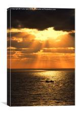Sunrise in Gran Canaria, Canvas Print