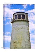The top of Leasowe Lighthouse, Canvas Print