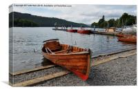 A rowing boat on Windermere