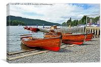 Rowing boats for hire on Windermere