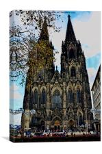 Cologne Cathedral, Canvas Print