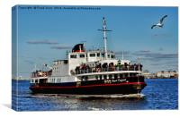 Royal Daffodil arriving at Seacombe Ferry