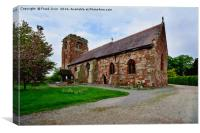 St Eata's Church, Canvas Print