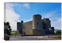 Harlech castle, Canvas Print