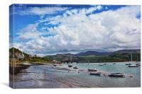 Barmouth Harbour, Canvas Print