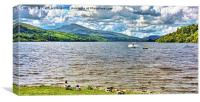 Llyn Tegid (Bala Lake) , Canvas Print