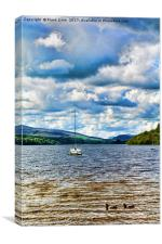 Llyn Tegid (Bala Lake), Canvas Print