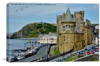 The Old College, Aberystwyth, Canvas Print